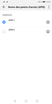 Huawei Mate 10 Pro Android Pie - Internet - Configuration manuelle - Étape 15