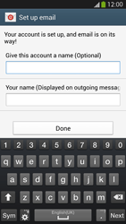 Samsung I9505 Galaxy S IV LTE - E-mail - Manual configuration POP3 with SMTP verification - Step 18