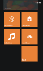 Nokia Lumia 800 / Lumia 900 - Getting started - Personalising your Start screen - Step 10