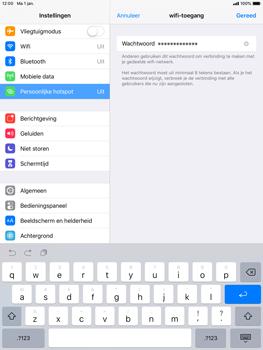 Apple ipad-mini-retina-met-ios-12-model-a1490 - WiFi - Mobiele hotspot instellen - Stap 5