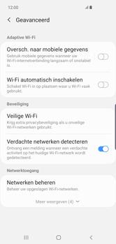 Samsung Galaxy S10 Plus - wifi - schakel Wi-Fi Assistentie uit - stap 11