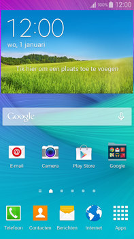 Samsung N910F Galaxy Note 4 - Voicemail - Manual configuration - Step 2