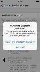 Apple iPhone 5s - Internet - Mobilen WLAN-Hotspot einrichten - 8 / 9