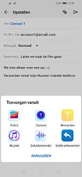 Huawei Y6 (2019) - E-mail - e-mail versturen - Stap 9