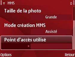 Nokia E63 - MMS - Configuration manuelle - Étape 17