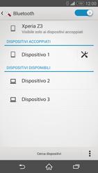 Sony Xperia Z3 - Bluetooth - Collegamento dei dispositivi - Fase 8