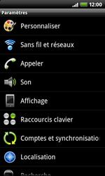 HTC A7272 Desire Z - Messagerie vocale - Configuration manuelle - Étape 4