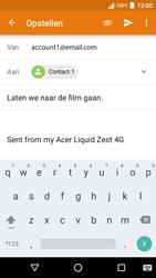 Acer Liquid Zest 4G - E-mail - E-mails verzenden - Stap 8
