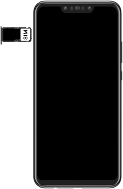 Huawei Nova 3 - SIM-Karte - Einlegen - Schritt 6