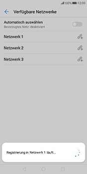 Huawei Mate 10 Pro - Netzwerk - Manuelle Netzwerkwahl - Schritt 12