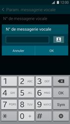 Samsung G800F Galaxy S5 Mini - Messagerie vocale - Configuration manuelle - Étape 7