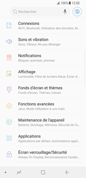 Samsung Galaxy S8 - Android Oreo - Réseau - Changer mode réseau - Étape 4