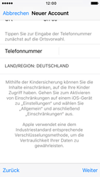 Apple iPhone 5s iOS 9 - Apps - Einrichten des App Stores - Schritt 23