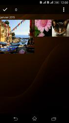 Sony Xperia E4g - Photos, vidéos, musique - Envoyer une photo via Bluetooth - Étape 9