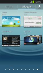 Samsung Galaxy Express - Startanleitung - Installieren von Widgets und Apps auf der Startseite - Schritt 5