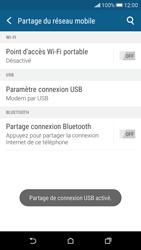 HTC Desire 626 - Internet et connexion - Utiliser le mode modem par USB - Étape 9