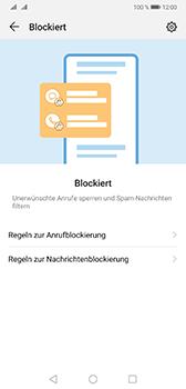 Huawei Mate 20 - Anrufe - Anrufe blockieren - Schritt 5