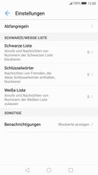 Huawei P10 Lite - Anrufe - Anrufe blockieren - Schritt 6