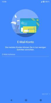 Sony Xperia XZ3 - E-Mail - Konto einrichten - Schritt 6