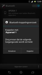 Sony LT30p Xperia T - Bluetooth - koppelen met ander apparaat - Stap 9