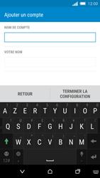 HTC One M8s - E-mail - Configuration manuelle - Étape 16