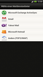 HTC S720e One X - E-Mail - Konto einrichten - Schritt 5