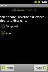 Alcatel OT-983 - E-mail - Configurazione manuale - Fase 8