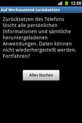 Samsung Galaxy Ace - Fehlerbehebung - Handy zurücksetzen - 9 / 10