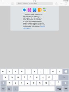Apple iPad mini - iOS 8 - Internet e roaming dati - Uso di Internet - Fase 4