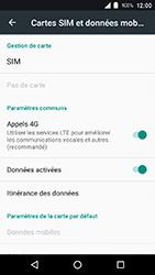 Crosscall Action X3 - Réseau - Activer 4G/LTE - Étape 5
