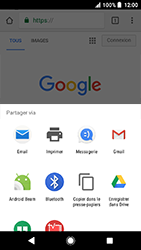 Sony Xperia X Compact - Android Oreo - Internet - navigation sur Internet - Étape 21