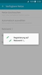 Samsung Galaxy S6 Edge - Netzwerk - Manuelle Netzwerkwahl - Schritt 8