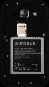 Samsung Galaxy J1 - SIM-Karte - Einlegen - 5 / 7
