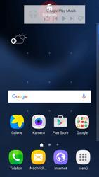 Samsung Galaxy S7 Edge - Startanleitung - Installieren von Widgets und Apps auf der Startseite - Schritt 9
