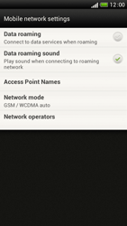 HTC One S - Network - Manual network selection - Step 6