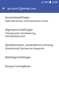 HTC U11 (2PZC100) - E-mail - Instellingen KPNMail controleren - Stap 11