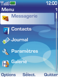 Nokia 6233 - Messagerie vocale - configuration manuelle - Étape 3