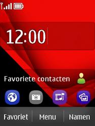 Nokia Asha 300 - SMS - handmatig instellen - Stap 1