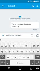 Sony Xperia XZ Premium - Contact, Appels, SMS/MMS - Envoyer un SMS - Étape 10