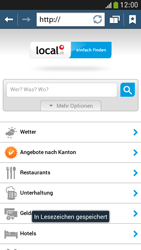 Samsung Galaxy S 4 Mini LTE - Internet und Datenroaming - Verwenden des Internets - Schritt 16