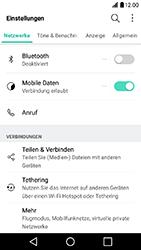 LG X Power - Ausland - Im Ausland surfen – Datenroaming - 5 / 11
