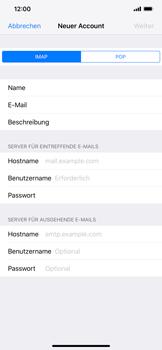 Apple iPhone XR - E-Mail - Konto einrichten - 11 / 30