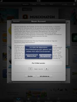 Apple iPad Retina - Apps - Einrichten des App Stores - Schritt 11