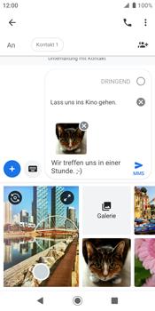Sony Xperia XZ2 - Android Pie - MMS - Erstellen und senden - Schritt 20