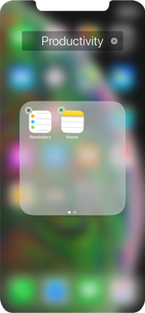 Apple iPhone XS Max - Getting started - Personalising your Start screen - Step 6