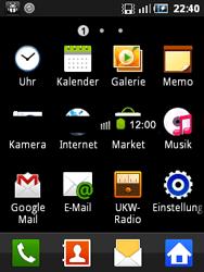 Samsung Galaxy Mini - MMS - Manuelle Konfiguration - 4 / 17