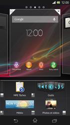 Sony Xperia Z - Prise en main - Installation de widgets et d