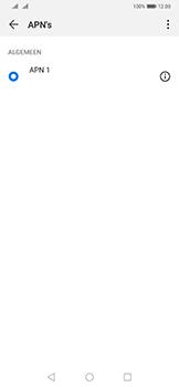 Huawei Mate 20 Pro - Internet - Handmatig instellen - Stap 7