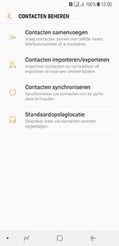 Samsung Galaxy A8 (2018) (SM-A530F) - Contacten en data - Contacten kopiëren van toestel naar SIM - Stap 7