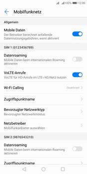 Huawei Y7 (2018) - Internet und Datenroaming - Prüfen, ob Datenkonnektivität aktiviert ist - Schritt 6